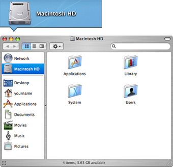 This is called a Finder window.
